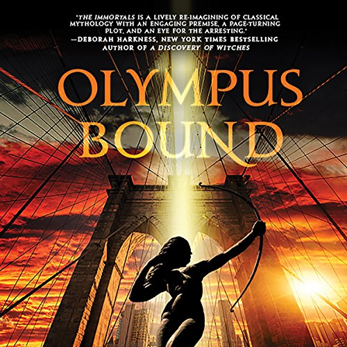 Olympus Bound audiobook cover art