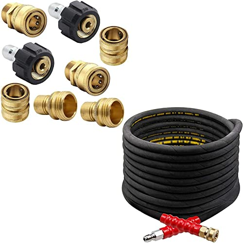 lowest Twinkle Star Pressure Washer Adapter Set lowest | 3/8 Inch Pressure wholesale Washer Hose sale
