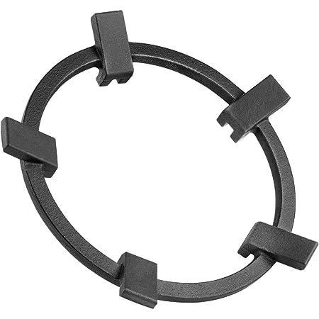Wok Ring Non Slip Black Cast Iron Stove Trivets for Kitchen Wok Support Ring