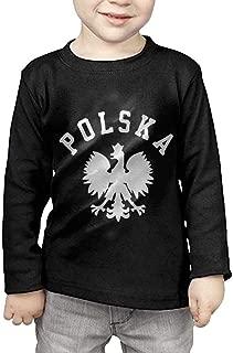 XYMYFC-E Polska Polish Country Pride 2-6 Years Old Children Short-Sleeved T-Shirt