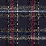 Fabulous Fabrics Schottenkaro Stretch 11 – Navy —