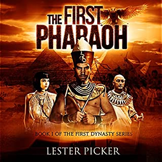 The First Pharaoh audiobook cover art