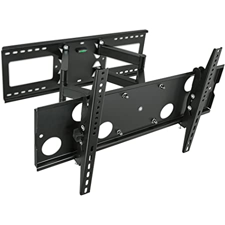 Mount-It! Articulating TV Wall Mount | Full Motion TV Bracket for 32 - 65 Inches Screen | VESA Compatible up to 600x400 | Dual Arm Extention up to 18 Inches | 165 Lbs Capacity