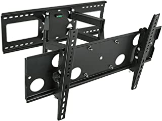 """MOUNT-IT! Dual Arm Articulating TV Wall Mount [32"""" to 65"""" Displays] [165 lbs Capacity] Mounting Bracket for Large Flat Scr..."""