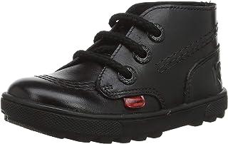 Kickers 中性款儿童 Disley Hi 乐福鞋