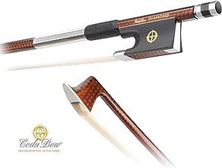 CodaBow Diamond GX Carbon Fiber 4/4 Violin Bow