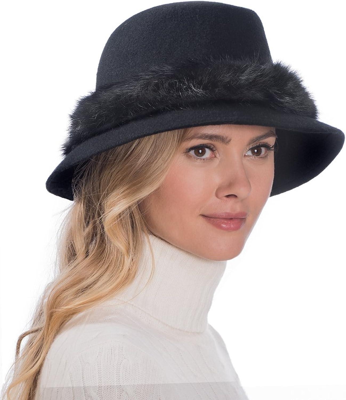 Eric Javits Luxury Fashion Designer Women's Headwear Hat  Bunny