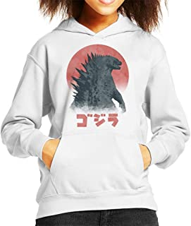 Cloud City 7 Godzilla Kaiju Monster Kid's Hooded Sweatshirt