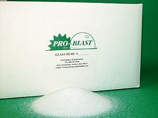 GLASS BEAD #3 - Large Diameter Bead - 25 lbs. - Sand Blast Cabinet BLASTING MEDIA - By Tacoma Company