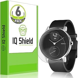 واقي شاشة IQ Shield متوافق مع نوكيا ستيل HR (36 مم) (6 حزم) طبقة رقيقة مضادة للفقاعات