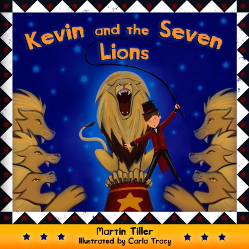Kevin and the Seven Lions audiobook cover art