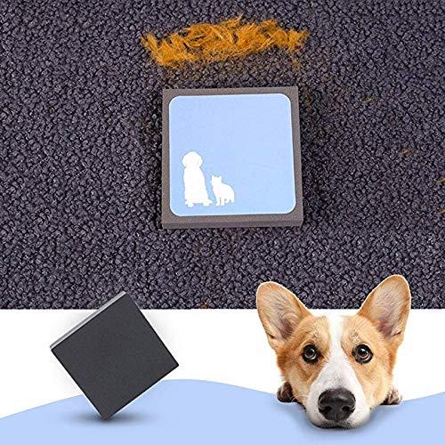 CYONGYOU Dierlijke kat hond borstel schuim spons huisdier haar remover schoner huishoudelijke autostoel matras schoonmaken tool