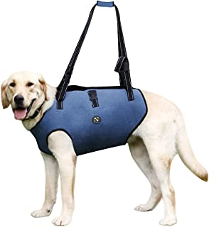 COODEO Dog Lift Harness, Pet Support & Rehabilitation Sling Lift Adjustable Vest Breathable Straps for Old, Disabled, Joint Injuries, Arthritis, Loss of Stability Dogs Walk