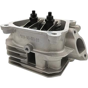 Shioshen 2 piezas de cabezal de cilindro junta para Honda GX160 GX200 5.5HP 6.5HP 168FA 168FB motor generador de gas bomba de agua