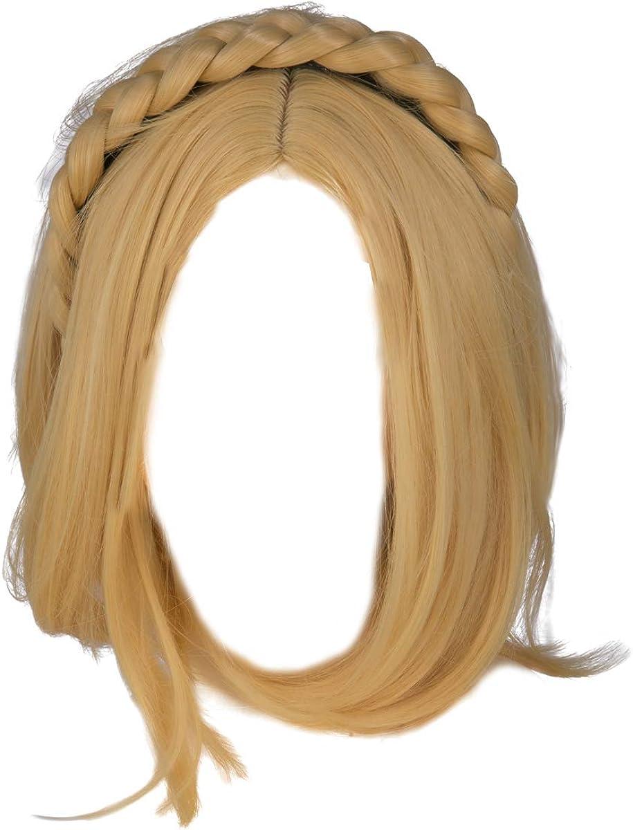 The Direct stock discount Legend of Zelda Princess Wig Sh Women Cosplay Blonde Bargain sale Costume
