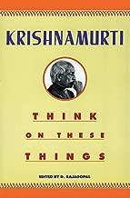 Best jiddu krishnamurti think on these things Reviews