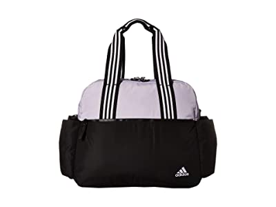 adidas Sport To Street Tote (Purple Tint/Black) Bags
