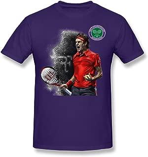 Men's Roger Federer Art Wimbledon Championships T-shirt