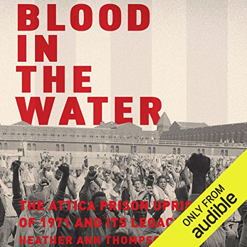 Blood in the Water audiobook cover art