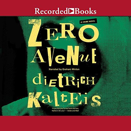 Zero Avenue audiobook cover art