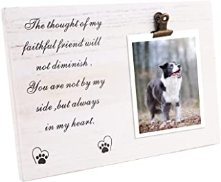 Pet Keepsake Frame, Dog Photo Frame, Pet Memorial Keepsake Picture Frame ,Dog Picture Frame 4 x 6 Vertical