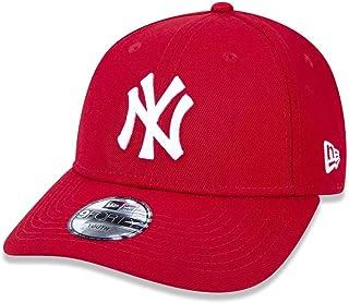 BONE 940 NEW YORK YANKEES MLB ABA CURVA VERMELHO NEW ERA