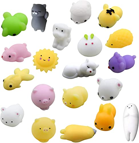 lowest Sensory Fidget wholesale Toys Set Mini Squishy Fidget Toy for Adults discount Kids Sensory Toys Pack Squeezy and Bouncy Fidget Toys Stress Relief Anti-Anxiety Toys for Kids Adults, ADHD Autism Stress Toy Set of 20 outlet sale