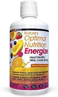 Nature's Optimal Nutrition Energize, Health Direct | 140+ Ingr. Super Liquid Multivitamin | 30oz