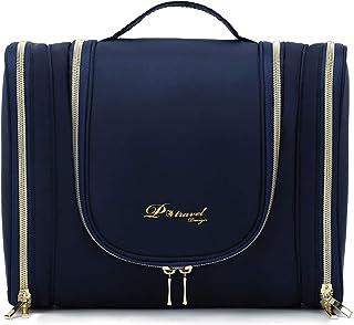 Luxury Hanging Travel Toiletry Bag for Women and Men,Portable Waterproof Bathroom Shower Bag, Lightweight Dopp kit Shaving...