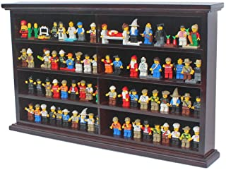 Premium Lighted Display Case Multi-Color Dustproof Toys Minifigures Protection