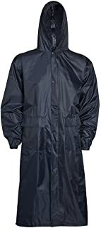 Mens Waterproof Long Raincoat UK S-XXL