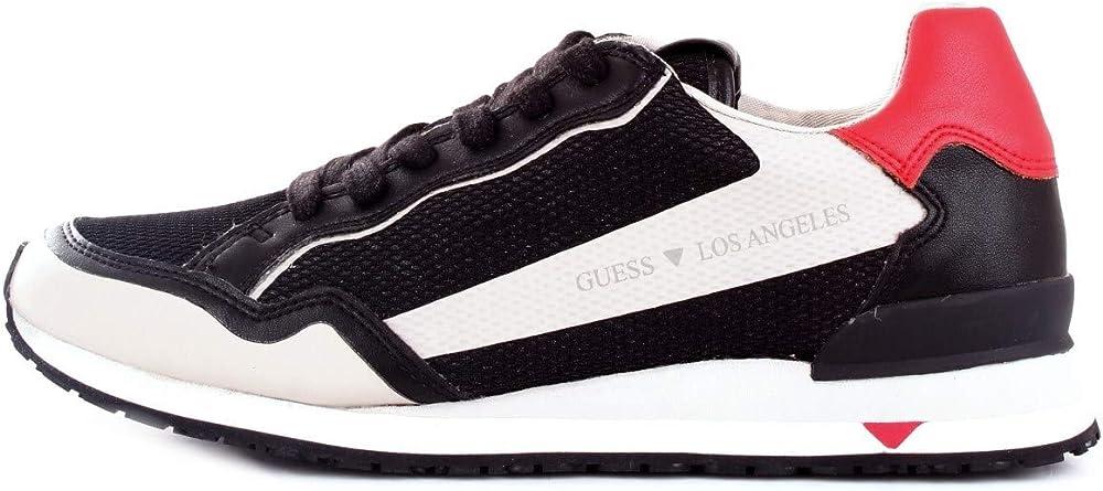 Guess,scarpe sportive,sneakers per uomo, in ecopelle e tessuto 4467_1-858,4-25