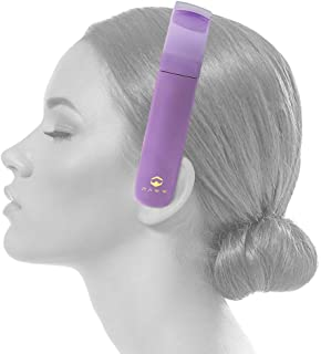 Paww SilkSound Headphones - Stylish Foldable SilkSound Headphones - Stylish Foldable On-Ear Wireless Bluetooth Handsfree Calling with 8 Hours Playtime for Work Travel or Outdoor Use (Renewed)