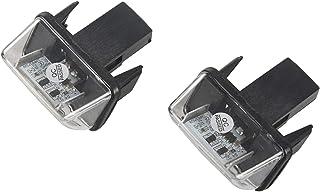 ZesfOr Feux de Plaque dimmatriculation LED pour Peugeot 807