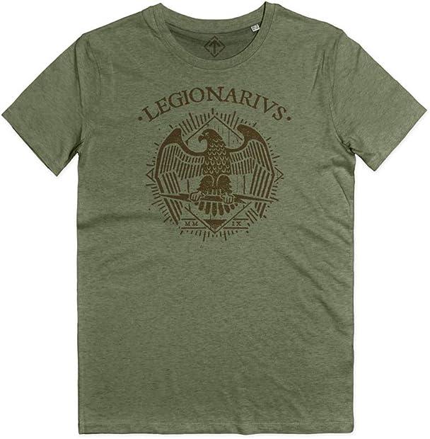 Maglietta legionarius maglia roma rievocazione storica legione romana spqr roman legions t-shirt B07JCZ2S57