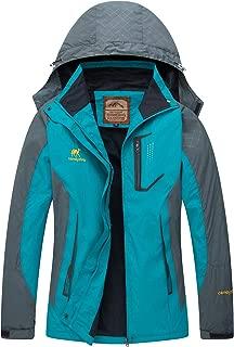 Women Hooded Windproof Waterproof Rain Jacket