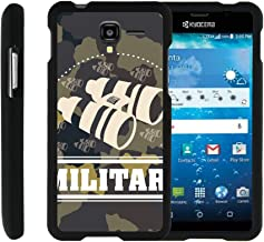 TurtleArmor | Compatible with Kyocera Hydro View Case | Hydro Reach Case | Hydro Shore Case [Slim Duo] Ultra Slim Hard Matte 2 Piece Snap On Cover on Black War and Military - Military Binoculars