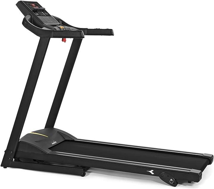 Tapis roulant diadora fitness edge 1.5 , 1.5 hp, velocità 14 km/h B08NK8C48H