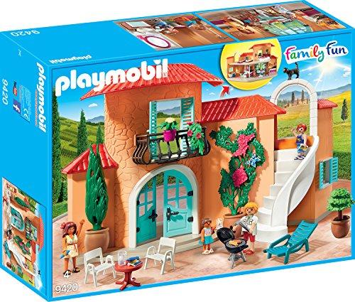 PLAYMOBIL Family Fun 9420 Sonnige Ferienvilla, Ab 4 Jahren