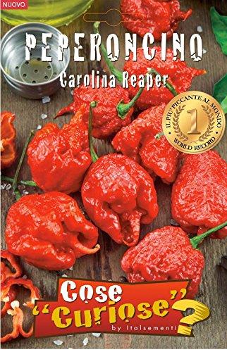 Semi - Peperoncino Carolina Reaper (Capsicum Chinense) 1° World Record