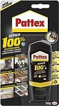 Pattex Repair 100% alleslijm, sterke lijm voor binnen en buiten, lijm voor reparatie van verschillende materialen, 1 x 50 g