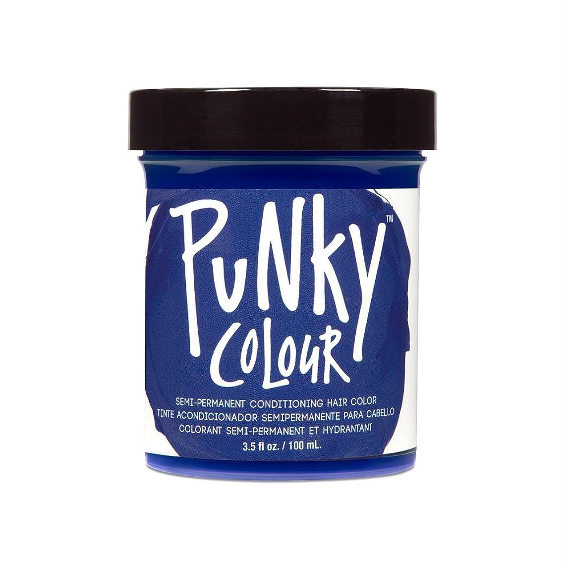 厳ヤングしてはいけません(3 Pack) JEROME RUSSELL Punky Color Semi-Permanent Conditioning Hair Color - Midnight Blue (並行輸入品)