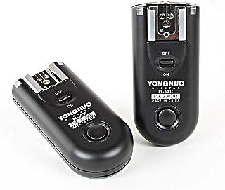 جهاز التحكم اللاسلكي عن بعد بزر اطلاق ضوء الفلاش لكاميرا كانون 1D و1Ds و5D و5DII و50D و40D و30D و20D و10D من يونغنيو RF-60...