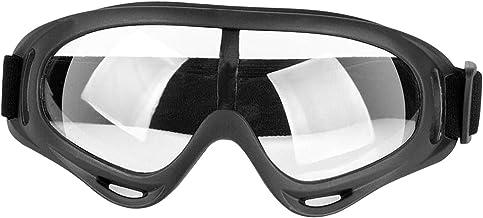 homozy Óculos de Segurança PE Óculos de Proteção Óculos de Proteção para Ampla Visão à Prova de Vento