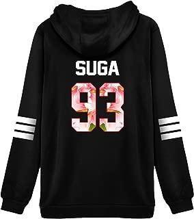 Kpop BTS Hoodie Sweater Jin Suga Jimin V J-Hope Jung Kook Jacket Pullover