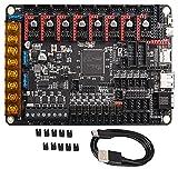BIGTREETECH Octopus V1.1 para CR10 Ender 3 Placa de control de impresora 3D Actualización de placa base Spider Marlin 2.0 Klipper Soporte TMC2209 TMC2208 TMC2130, TFT35 E3 V3.0 TFT35 V3.0 12864LCD ect