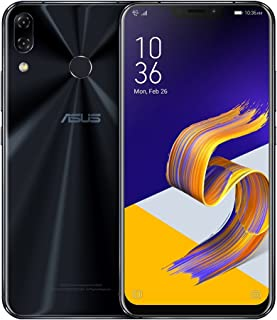 ASUS ZenFone 5Z (ZS620KL) 6.2 inchs with 6GB RAM / 128GB Storage, (GSM ONLY, NO CDMA) Factory Unlocked International Version No-Warranty Cell Phone (Midnight Blue)