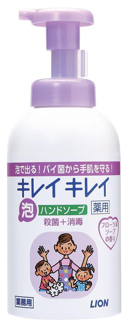 花瓶チョーク麻酔薬キレイキレイ 薬用泡ハンドソープ フローラルソープの香り 550ml