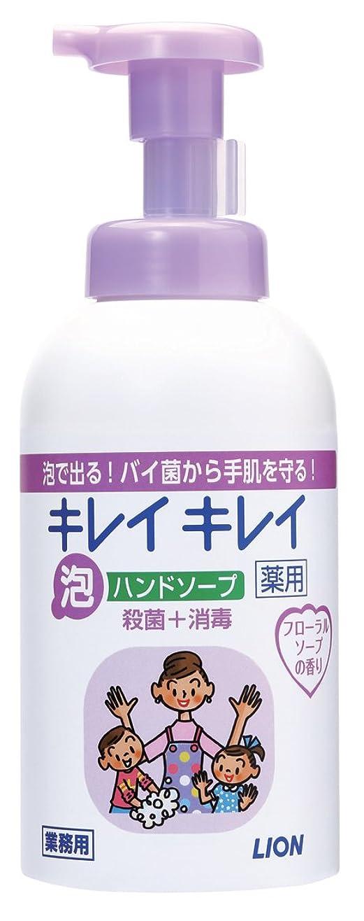 献身昨日差別化するキレイキレイ 薬用泡ハンドソープ フローラルソープの香り 550ml