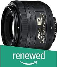 Nikon AF-S DX 35mm F/1.8G Lens (Renewed)
